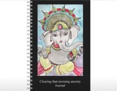Original Art Designed  Ganesha Journal -  Just love putting pen to paper!