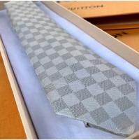 Louis Vuitton damier gold check tie