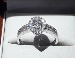 Beautiful 0.80ct Diamond Engagement Ring