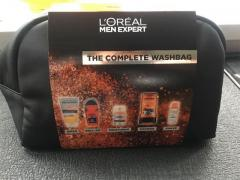 Men's L'Oréal Wash Bag Gift Set