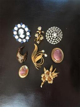 Collection of Brooches £3 Each 3 For £7