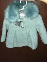 Cute baby's coat age 3/6 months
