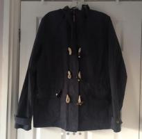 Ladies Fat Face Navy Raincoat Size 14 VGC