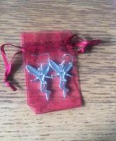 Fairy Earrings New in Organza Bag (postage available)