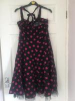 Hearts & Roses Vintage Dress Size 16 Excellent Condition (postage available)