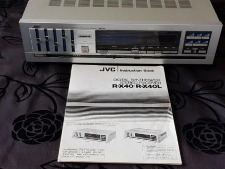 JVC Digital synthesizer stereo receiver
