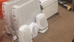 6 Eletric Heaters + Hotpoint Dishwasher