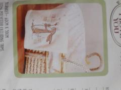 Moses basket bedding set