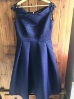 Blue dress size 10