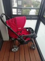 Joie pram and baby Rocker