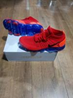 Nike Air Vapormax Flyknit 2.0 - UK7.5, EU42, US8.5/ Red/ Blue