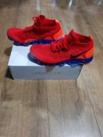 Nike Air Vapormax Flyknit 2.0 - UK8.5, EU 43, US 8.5 / Red / Blue