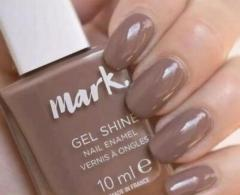 Avon Mark Gel berry nutty nail enamel