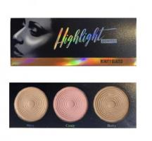 Beauty Glazed Highlight Blush Trio