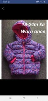 girls coat 18-24m