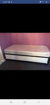 single divan bed without mattress