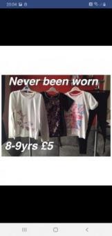girls clothes 8-9yrs