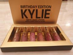 Kylie Birthday Edition 6pcs Lipstick small