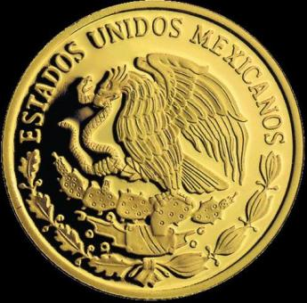 mexican gold coin excellent for collection