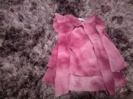 Very pretty red herring rose pink casual floaty top