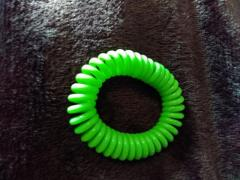Pack of ten mosquito repellent stretchy bands