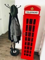 Wine rack 28 bottles Telephone box cabinet