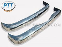 Mercedes Benz W121 stainless steel bumpers