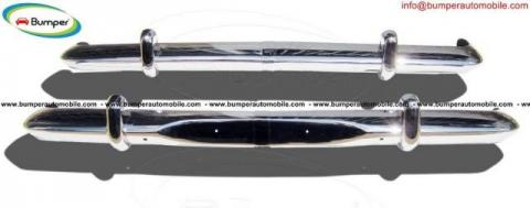 Opel Rekord P2 bumper (1960-1963) by stainless steel