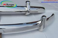 VW Beetle Euro style bumper (1955-1972) by stainless steel