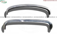 VW Type 3 bumper (1970-1973) in stainless steel