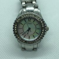 Guess Ladies' Silver Tone Mini Rock Candy Watch  I95273L1