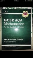 revision guide for english (language),maths and biology