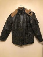 Timberlands Leather Jacket XS