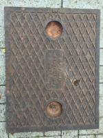 Cast iron man hole