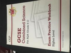 Combined science practise workbook