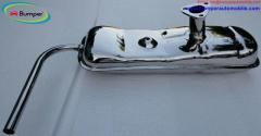 Exhaust for Vespa 400 (1957-1961) by stainless steel