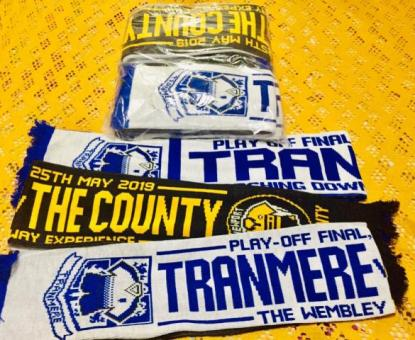 Play off final 25th may 2019 Tranmere V The county
