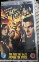 PSP umd movie starship troopers 3 marauder new sealed