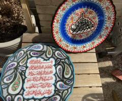 TRADITIONAL TURKISH HAND PAINTED BOWL SET