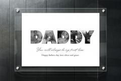 PERSONALISED FATHERS DAY PRINTS ????