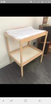 Baby bed 0-3 mth and baby exchange together