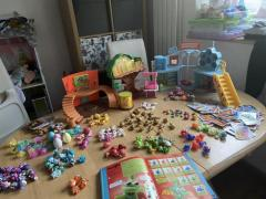 Variety of moshi monsters toys