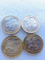 2 pounds coin set of commonwealth games 2002.