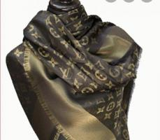 Louis Vuitton (black and gold) scarf