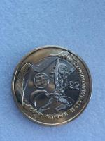 2 pounds coin commonwealth games England 2002.