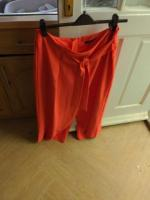 red glamerous trousers