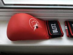 BLITZ ELITE PU WITHOUT THUMB SPARRING GLOVES KIDS SIZE MEDIUM