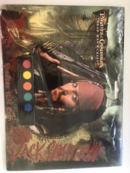 Pirates of the Caribbean art sheets and paint