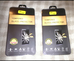 2 x Iphone 7 tempered glass protector