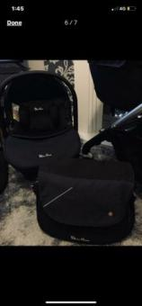 Silver cross pioneer travel system including car seat and accessories
